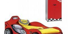 Conjunto Cama y armario coche racer turbo