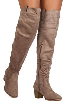 Venice Over The Knee Boots - ShopLuckyDuck  - 1