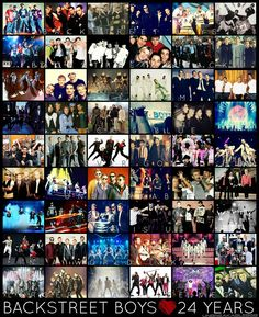 24 years of Backstreet Boys! #bsb24