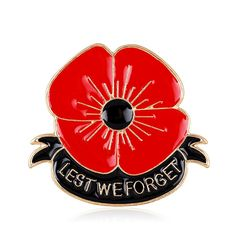 Promises 'Highest Quality' - Six Month Warranty! Gift for all your Best Friends,Family Members Veterans Day Remembrance Day Memorial Day Gift Poppy Brooch Pins Lest We Forget Enamel Golden Flower Badge Broach Inches - Poppy Flower Remembrance Poppy, Remembrance Gifts, Poppy Brooches, Women's Brooches, Flower Brooch, Brooch Pin, Memorial Day, Poppy Pins, Forget