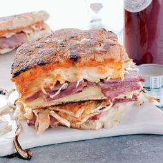 Harry Potter Food Recipes - Ron's Corned Beef Sandwich