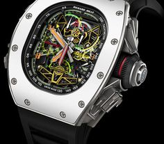 Richard Mille RM 50-02 ACJ Tourbillon Split Seconds Chronograph. Only $1,050,000