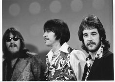 A nice vintage photo of Terry Kath, Walt Parazaider, & James Pankow -3 of Chicago's founding members
