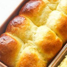 Krispy Kreme Doughnut Recipe (Copycat) - Immaculate Bites Brioche Loaf, Brioche Rolls, Homemade Brioche, Bread Recipes, Cooking Recipes, Oven Roast, Garlic Butter, Dinner Rolls, Mac And Cheese