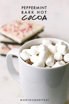 Recipe | Peppermint Bark Hot Cocoa