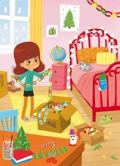 Winter Illustration, Children's Book Illustration, English Creative Writing, Kids Story Books, Cartoon Kids, Clipart, Illustrations Posters, Kids Playing, Illustrators