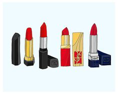 red for your lips
