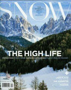SNOW Magazine covers client Neve Design
