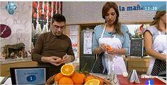 Marilo Montero y el equipo de La Mañana de la 1 (@RTVE) disfrutaron de Naranjas con Sabor
