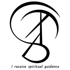 """I ascertain what I need"" sigil ""I receive spiritual guidance. Sigil Magic, Magic Symbols, Spiritual Symbols, Symbols And Meanings, Spiritual Guidance, Rune Symbols, Wiccan Spells, Witchcraft, Wiccan Magic"
