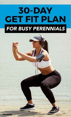 30-Day Get Fit Plan for Busy Perennials #workout #fitness #skinnyms #perennials