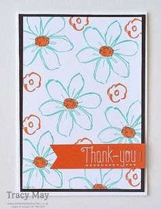 Garden In Bloom from Stampin' Up! Tracy May #GDP029
