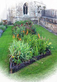 Church garden ~Dave Mills~