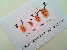 What a cute Christmas card idea!