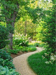 25 Most Beautiful DIY Garden Path Ideas is part of Backyard garden Inspiration - favorite books on garden path construction! Diy Garden, Shade Garden, Dream Garden, Garden Beds, Garden Cottage, Lush Garden, Herb Garden, Farmhouse Garden, Home Garden Design