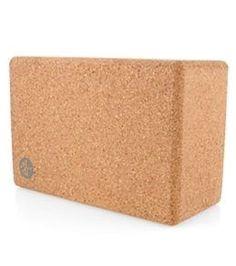 Manduka Cork Yoga Block #yogablocks  #YogaBlocks