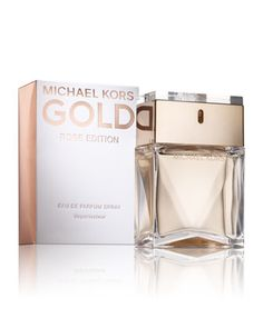 Showstopping—like a chunky cocktail ring—Michael Kors Gold Rose Edition eau de parfum makes a statement.