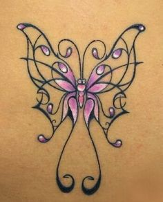fibro tattoos | fibromyalgia butterfly tattoo Fibromyalgia BUTTERFLY 3 Greeting Cards