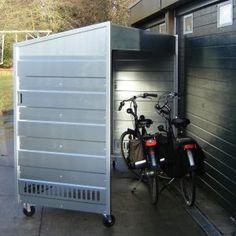 Mobiele motor- /fietsenberging, prieeltje, rookruimte | Productcategorieën | CD-Rek.nl | Oer-Design.nl
