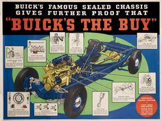 Buick's The Buy by Artist Unknown | Shop original vintage #posters online: www.internationalposter.com.