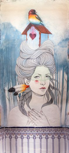 Graffiti video process  by Mercedes deBellard, via Behance