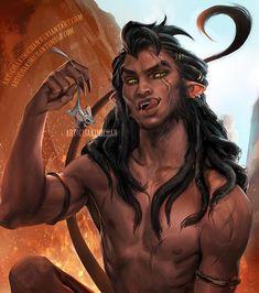 Scar as a were-lion by Sakimi