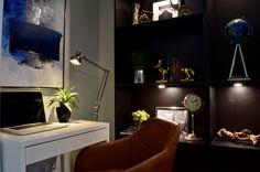 Modern condo design. Design collaborators: Reyes & Co. Design Studio and Samantha Concepcion Designs Reyes, Contemporary Interior, Oversized Mirror, Lawn, Condo, Interiors, Projects, Furniture, Home Decor
