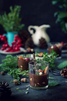 Vegan Chocolate Biscuit Pudding