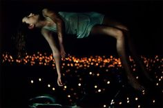 "Floating above glittering lights. Bill Henson, ""Untitled"" from Lux et Nox, 1995-1996."