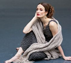 haniabyanyacole:  PRESS American Ballet Theatre Principal dancer Julie Kent in the April 2015 issue of Quest Magazine. Wearing custom HANIA by Anya Cole.