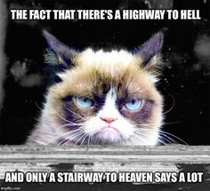 The Fact That There Is A Highway To Hell And Only Stairway To Heaven Says A Lot