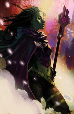 Gamora - Guardians of the Galaxy  ...