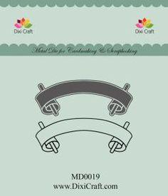 (GOSIA) WYKROJNIK DIXI CRAFT MD0019 TAGI 2szt NEW