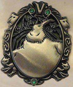 Disney Wonderfully Wicked Oogie Boogie The Nightmare Before Christmas Villain LE 3000 Pin New Front