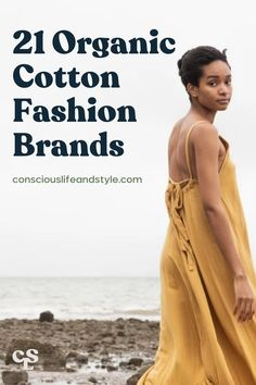 This guide is perfect for those looking to make better choices for their closet! We feature incredible organic cotton fashion brands with eco-friendly non-toxic cotton clothing and accessories. These eco-fashion brands are making a positive impact by sourcing toxin-free, non-GMO organically-grown cotton. They also go above and beyond by using natural dyes, sourcing from ethical manufacturers, reducing waste in their supply chain, and so on. #Organiccottonclothingwomen #organicfashion Vegan Fashion, Slow Fashion, Sustainable Clothing, Sustainable Fashion, Beaumont Organic, Ethical Fashion Brands, Fair Trade Fashion, Eco Friendly Fashion, Organic Cotton