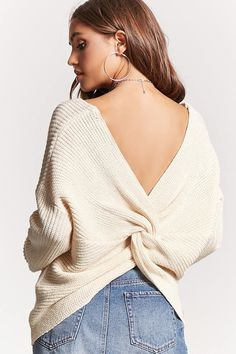 FOREVER 21 Twisted-Hem #Sweater #ad