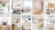 10 cocinas wood & white | Decoracion de INTERIORES Alcove, Bathtub, Indoor, Interior Design, Cool Stuff, Bathroom, Wood, Ideas, Colorful Chairs