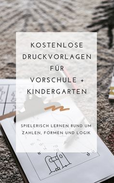 Einfache Spielideen zum Ausdrucken — a lovely journey Simple game ideas to print out - a lovely jour 2d Shapes Activities, Art Activities For Toddlers, Learning Activities, Preschool Kindergarten, Toddler Preschool, Preschool Crafts, Spring Crafts For Kids, Free Prints, Print Templates