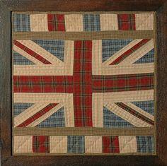 union jack quilt -