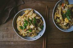 Oriental Knife-Cut Noodles, with bread flour