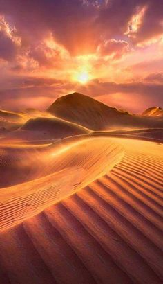 Desert Photography, United Arab Emirates, Beautiful Sunset, Amazing Nature, Wallpaper Backgrounds, Wallpapers, Egypt, Tourism, Deserts