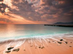 Sunrise @ Cannes La Bocca (French Riviera) by Eric Rousset