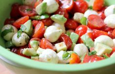 This page is blocked by service provider. Caprese Salad, Fruit Salad, Potato Salad, Mozzarella, Bacon, Salads, Food And Drink, Low Carb, Ethnic Recipes