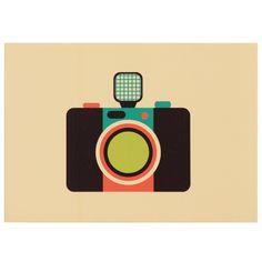 Os quadros fone, rádio, vinil e câmera são ícones vintage, ilustrados pensando em compor ambientes descontraídos dos apaixonados pelos anos 80 e 90. #picture #frame #decoratingideas #decorate #art #photography #painting #inspiration