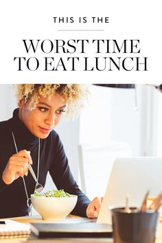 Between meetings and deadlines, it's easy to work well into the afternoon without realizing you haven't had lunch yet. But you should make sure you're not eating past this time if you're trying to lose weight.