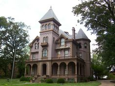 The Mallory–Neely House is a historic residence on 652 Adams Avenue in Memphis, Tennessee, USA. It is located in the Victorian Village district of Memphis. Around 1852, the mansion was built in the Italianate style as an early Victorian villa.