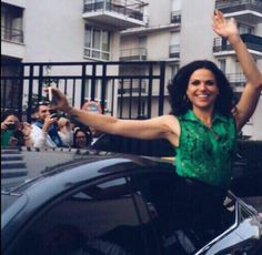 photo of Lana Parrilla  - car
