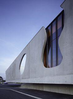 Maizières Music Conservatory / Dominique Coulon & Associés #architecture #Design #build #building #architectural #architect