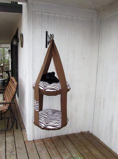 Common Meanings Of Cat Behavior Diy Cat Bed, Cat Tree House, Cat Perch, Cat Playground, Cat Shelves, Cat Room, Pet Furniture, Cat Crafts, Pet Home