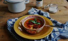 Sarah aan de Kook: bonensoep met chorizo